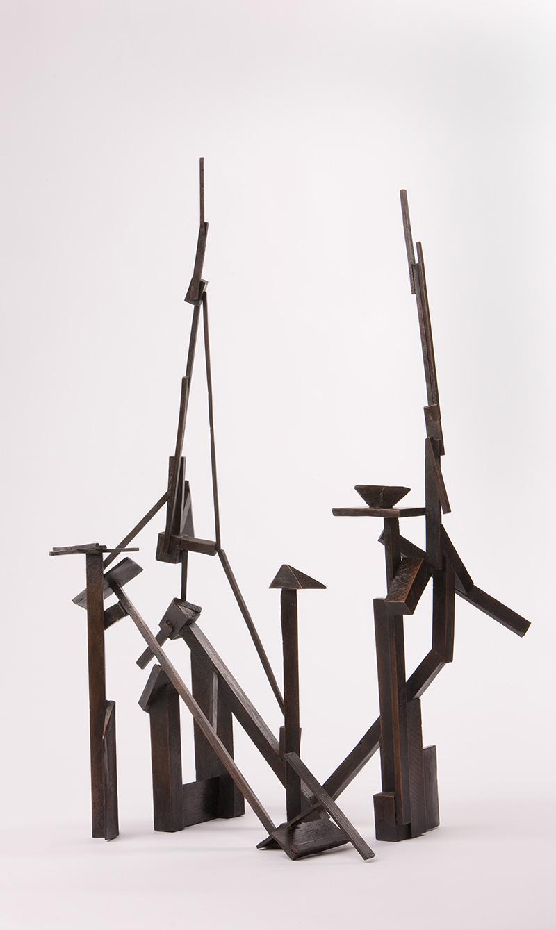 Robert Klippel '0859 (b)' (1974) Bronze cast 40 x 20 x 51cm $40,000
